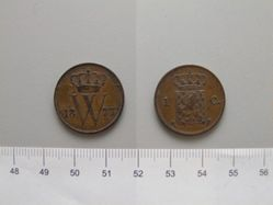Cent of William III of the Netherlands