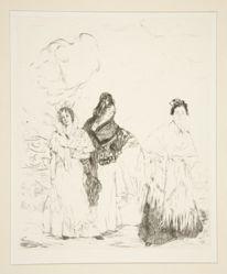 Las Manolas, Plate 17