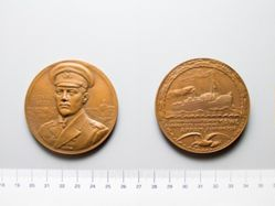 Bronze Medal of Lieutenant Hans Berg