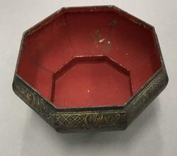 Betel Nut Set in Metal Bowl