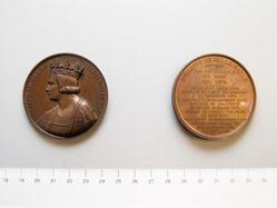 Bronze medal of Philippe III Roi