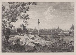 Imaginary View of Padua, from the series Vedute (Views)