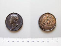 Medal of George IV, Prince Regent, after Waterloo