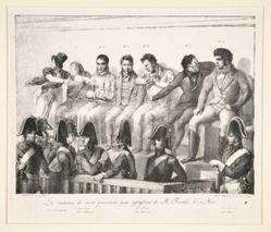 La Sentence de mort prononcee aux assassins de M. Fualdes, le 4 Mai (The Death Sentence Delivered to Mr. Fualdes's Assassins, May 4th)