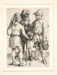 Three Peasants in Conversation
