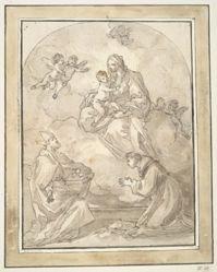 Vision of St. Nicholas of Bari