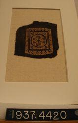 Fragment of tapestry.