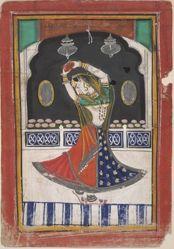 A maiden dancing