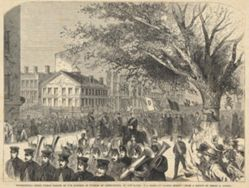 First Public Parade of the Knights of Pythias of Connecticut, at New Haven