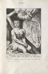 The Penitent Thief, 1 of 8 prints from the series Eight Repentant Sinners from the Old and New Testament