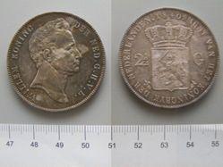 2 1/2 Gulden of William I of the Netherlands