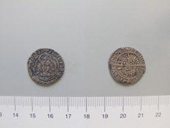 Silver halfgroat of Henry VII