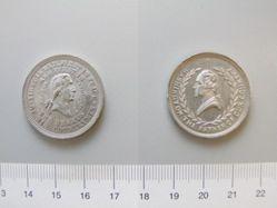 Tin Medal of George Washington