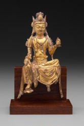 Bodhisattva Holding a Flaming Jewel