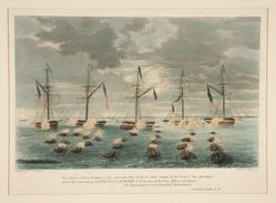 The Gallant Attack & Capture of the American Gun Boats in Lake Borgne . . .