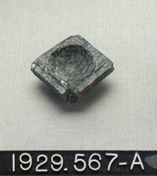 Lid (?)  Stone