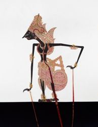 Shadow Puppet (Wayang Kulit) of Kresna, from the set Kyai Drajat