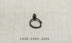 Bronze earring