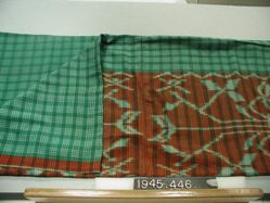 Ikat pattern cloth