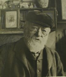 Portrait of C.W. Sherborn