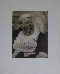 Paul Strand, Yawning Woman, New York, from the portfolio Paul Strand: The Formative Years 1914–1917