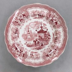"Plate, ""Palestine"" Pattern"