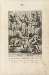 1 of 12 plates from the series XII. Fidei Apostolici Symbola (The Apostles' Creed)