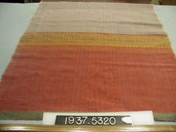Scarf of compound cloth