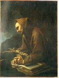 Saint Francis Adoring the Crucifix