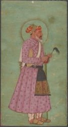 Portrait of Emperor Aurangzeb