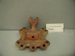 Rectangular lamp with nine nozzles