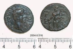 """Coin of C. Caesar Augustus Germanicus (""""Caligula""""), Emperor of Rome from Balbura"""