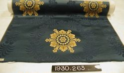 Copy of a fancy compound satin of about 1810 (Napoleon I)