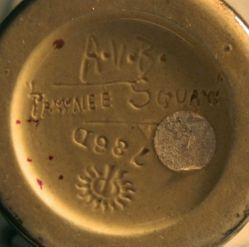 """Pawnee Squaw"" Vase"