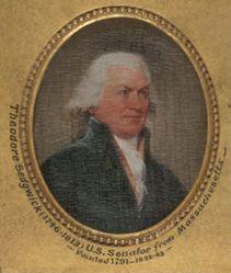 Theodore Sedgwick (1746–1813), B. A. 1765, M.A. (Hon.) 1772