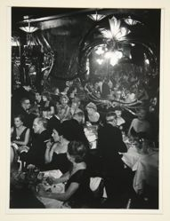 Gala Soiree at Maxim's, from A Portfolio of 10 Photographs by Brassai