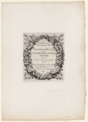 Title page to collection of etchings of pictures in the Metropolitan Museum