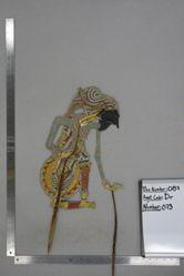 Shadow Puppet (Wayang Kulit) of Abyasa, from the set Kyai Drajat