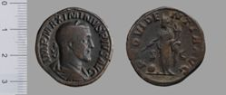 Sestertius of Maximinus I, Emperor of Rome from Rome