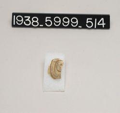 Snake thread flask (side fragment)