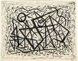 Rhythm in Pen-and-Ink:  Abstraction