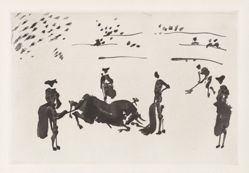 Muerte del toro (Death of the Bull), from the series La tauromaquia