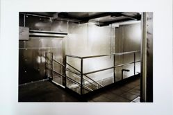 Robert Burley, Stairwell to Drying Rooms, Building 13, Kodak Canada, Toronto, from the portfolio The Disappearance of Darkness