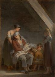 Une Famille dans la désolation (A Grief-Stricken Family)