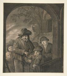 Untitled (Musicians at an Inn Door)
