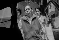 Donna Ferrato, Joya, Justina and Leslie, to the Dialysis Hospital, Lima, Peru, from the series Holy