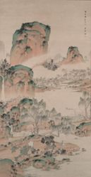 Spring Landscape in the Chinese Style