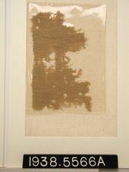 Textile, plain crepe fragment