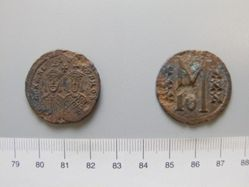 Follis (40 Nummi) of Michael II; Theophilus I from Unknown
