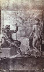Freschi di Pompei, Nettuno e Apollo a Troja